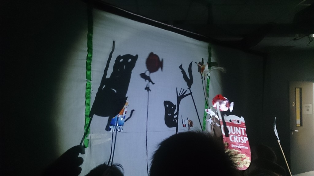 remembrance shadow puppets